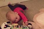 reaching baby